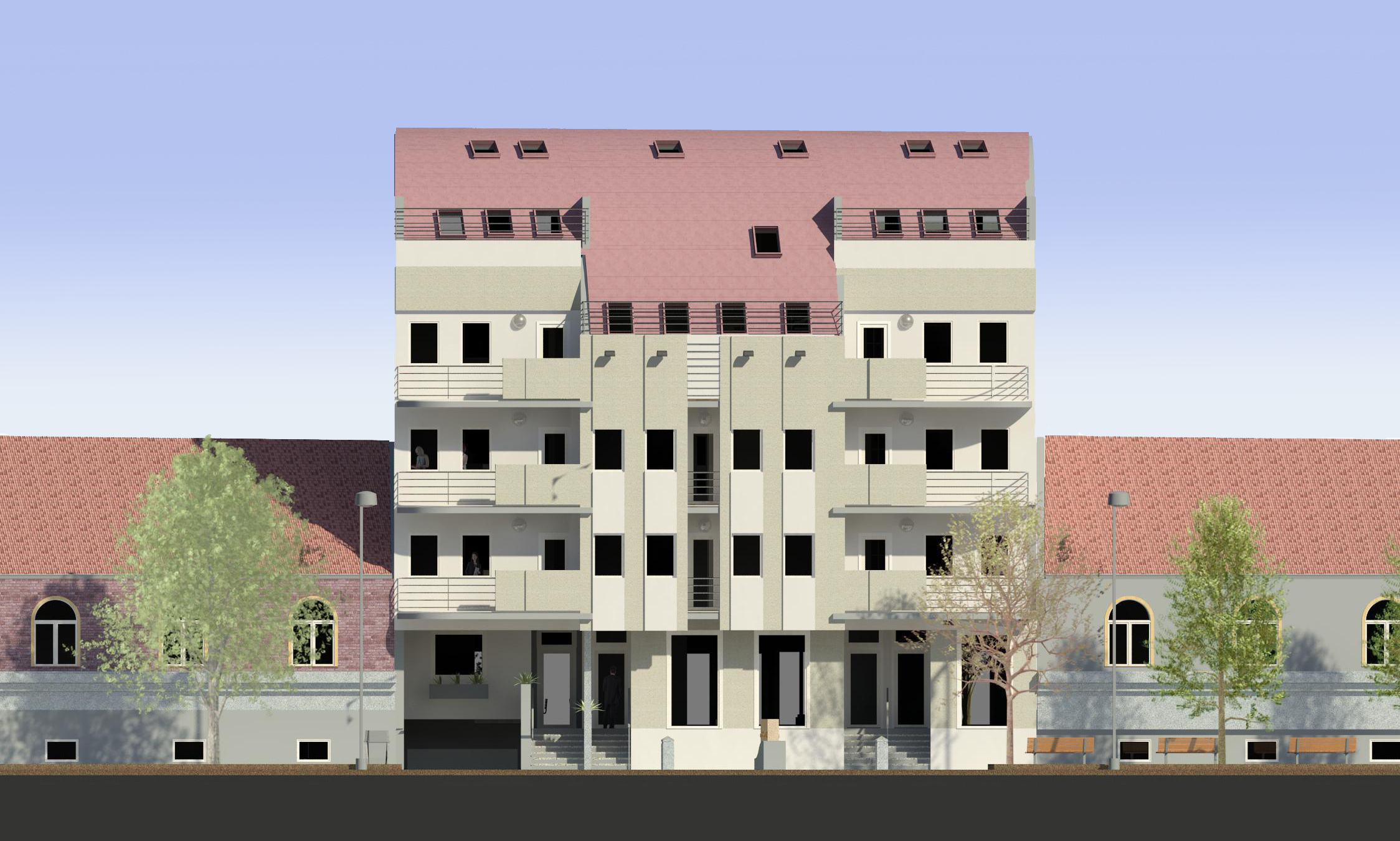 Sarajlijina Apartment Building - 3D 01